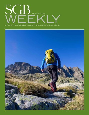 A Weekly Web Magazine for the Sporting Goods Industry