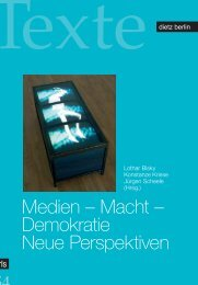 Medien – Macht – Demokratie Neue Perspektiven - Rosa ...