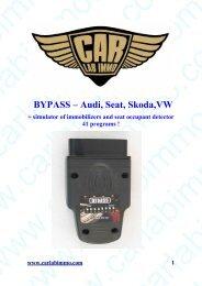 BYPASS – Audi, Seat, Skoda,VW