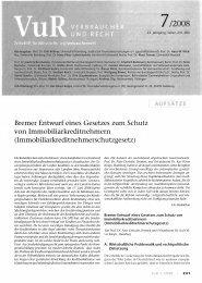 Bremer Entwurf eines Gesetzes zum Schutz von ...