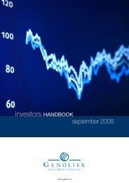 investors HANDBOOK - Dynamics Group