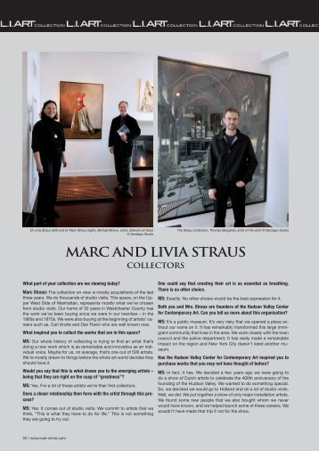 Read Article - Marc Straus