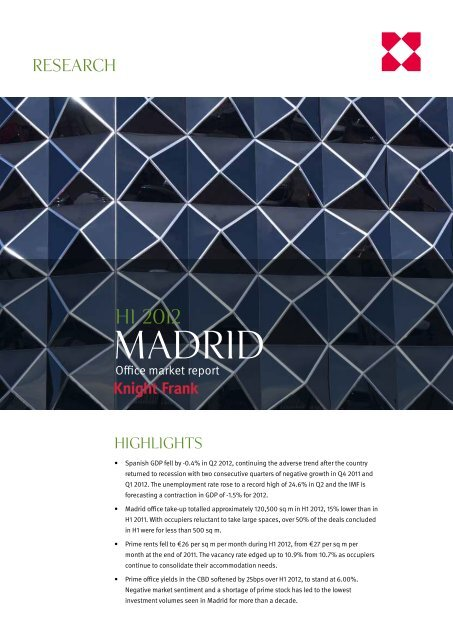 Madrid - Business Immo
