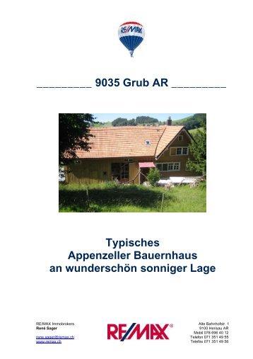 9035 Grub AR - Newhome.ch