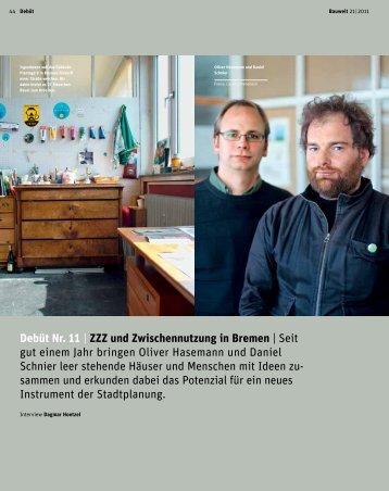 ZZZ und Zwischennutzung in Bremen - ZwischenZeitZentrale Bremen