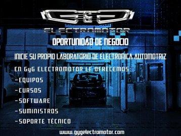 OPORTUNIDAD DE NEGOCIO - GyG Electromotor