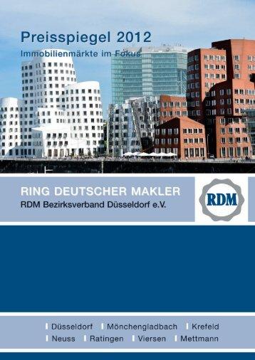 RDM Preisspiegel 2012