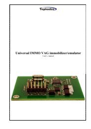 VAG IMMO Bypass device – EDC16, EDC15, ME7 - AutoKeyDevices