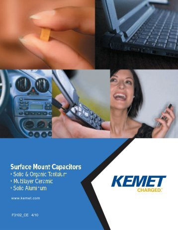 ceramic chip capacitors - Kemet