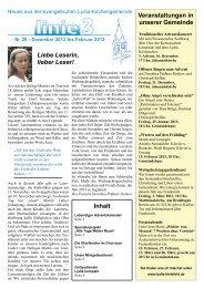 Gemeindebrief Nr 28 Dezember 2012 Vers 2