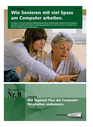 Wie Senioren mit viel Spass am Computer arbeiten. - easy-click