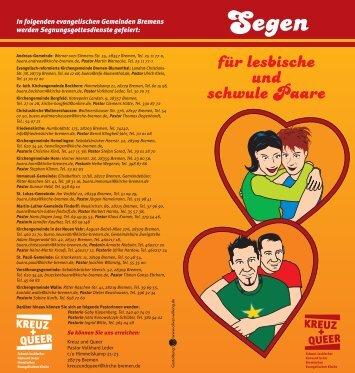 """Flyer """"Segen"""" (PDF) - Bremische Evangelische Kirche"""