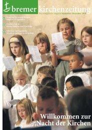 bremer kirchenzeitung - Bremische Evangelische Kirche