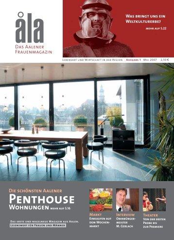 Penthouse - åla – Das regionale Frauenmagazin