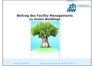 Beitrag des Facility Managements zu Green Buildings - GNI