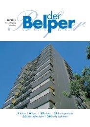 Oktober 2011 - Der Belper