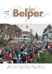 Januar 2010 - Der Belper