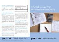 Informationen zu Ihrer Betriebskostenabrechnung - ABG Frankfurt ...