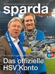 Ausgabe 1 / 2013 - Sparda-Bank Hamburg eG