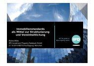 Immobilienstandards als Mittel zur Strukturierung g und ...
