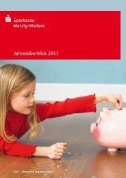Jahresüberblick 2011 s Sparkasse Merzig-Wadern