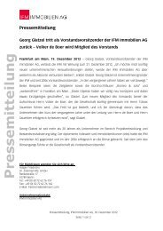 PDF 73,0 kb - IFM Immobilien AG