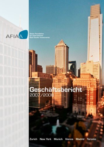 Geschäftsbericht - AFIAA