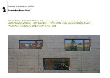 Partnerschaftlicher Baurechtsvertrag Plus - Immobilien Basel-Stadt