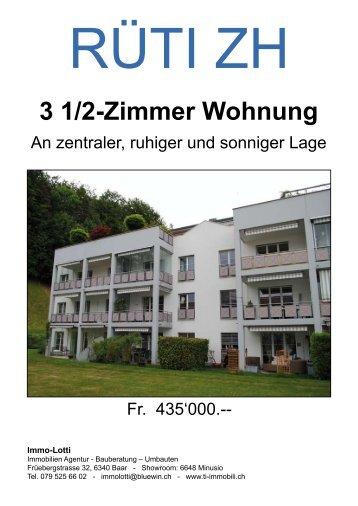 3 1/2-Zimmer Wohnung - newhome.ch