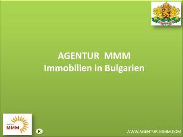 Immobilien in Bulgarien - MMM Agentur