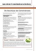 Gemeindezeitung vom Juli 2009 - Blumau Neurißhof - Page 2