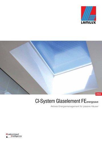 CI-System Glaselement FEenergysave