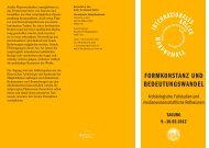 Info-PDF herunterladen - Internationales Kolleg Morphomata ...