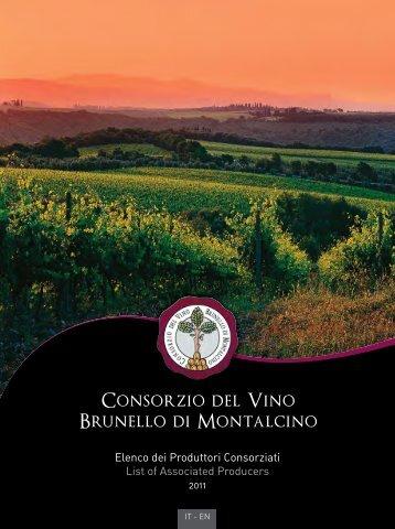 Download the complete Map - Consorzio del Vino Brunello di ...