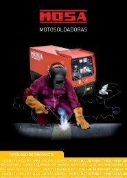 catálogo de motosoldadoras (7 mb) - MOSA, grupos electrógenos y ...