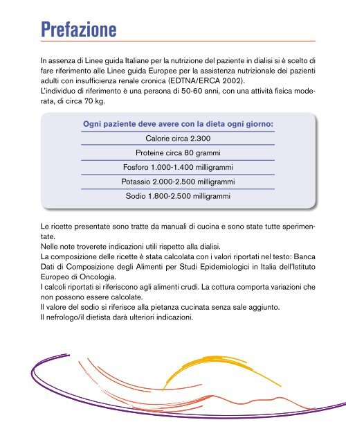 dieta per paziente renale