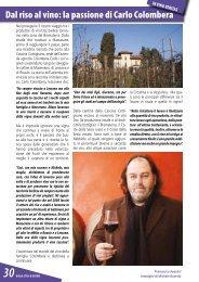 Dal riso al vino - Documento senza titolo