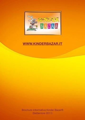 Scarica la Brochure (Pdf) - KINDER BAZAR-Home