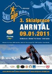 Die Broschüre zum SkiAlpRace Ahrntal 2011 als PDF