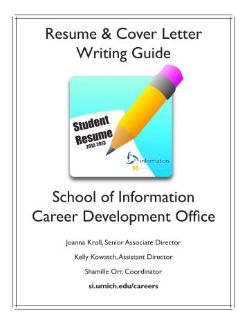 guide to writing a resume