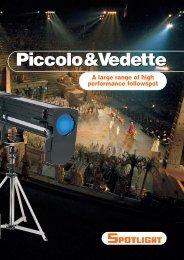 Vedette 25 M HR Technical features - Ebzlighting.ch