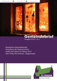 Gemeindebrief Nr. 4 2012 (Dez. - Feb.) - kirche-rautheim.de