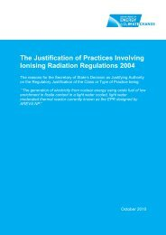Regulatory Justification decision on nuclear reactor: EPR - Gov.uk