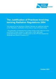 Regulatory Justification decision on nuclear reactor: AP1000 - Gov.uk