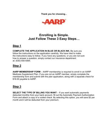 AARP Underwriting Guidelines - ARMS Insurance Group