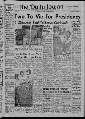 March 5 - The Daily Iowan Historic Newspapers