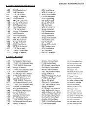 D-Junioren Zwischenrunde Gruppe A 10:00 DJK Feudenheim - SSV ...
