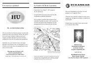 Un exercice spirituel Le Centre ECK de Lausanne