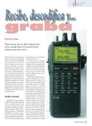 Icom IC-R20 - Radio-Noticias, revista digital de radioafición