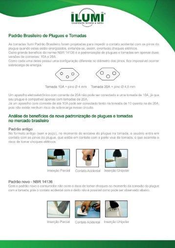 Padrão Brasileiro de Plugues e Tomadas - Ilumi